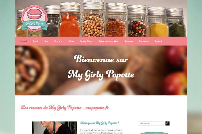 realisation blog culinaire mapopotte