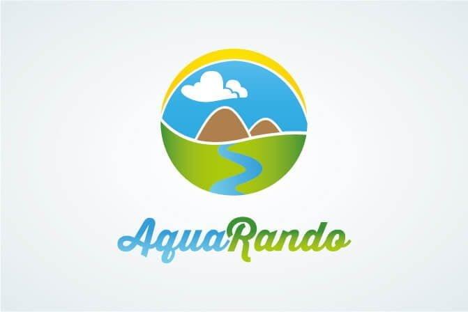 realisation logo randonnee aquatique