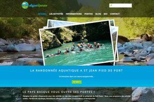 realisation site internet randonnee aquatique