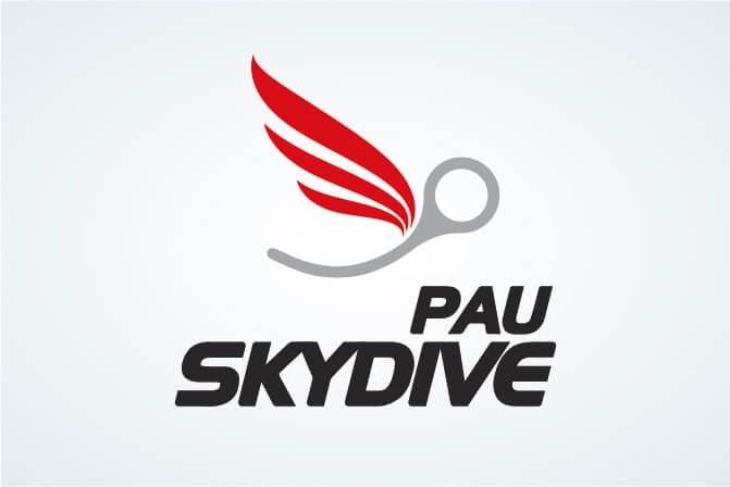 creation logo parachutisme