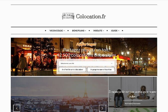 creation blog colocation.fr