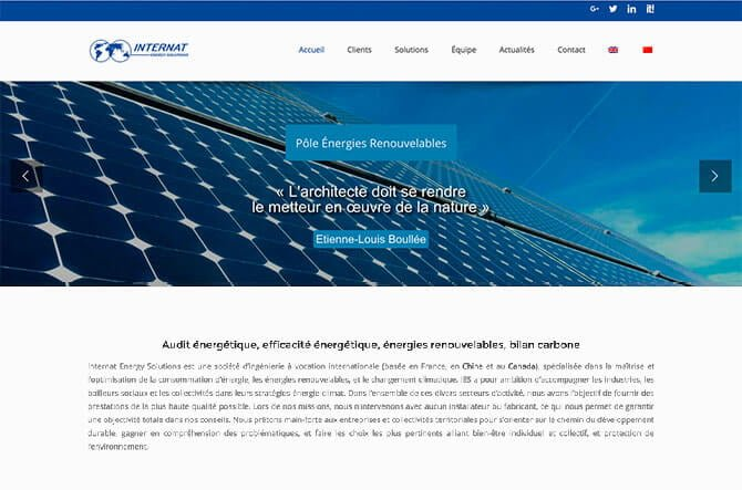 creation site internet audit energetique