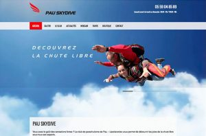 creation site internet club parachutisme