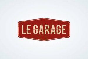 creation logo bar irlandais le garage