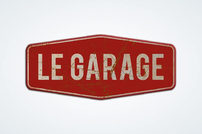 logo le garage bar pau