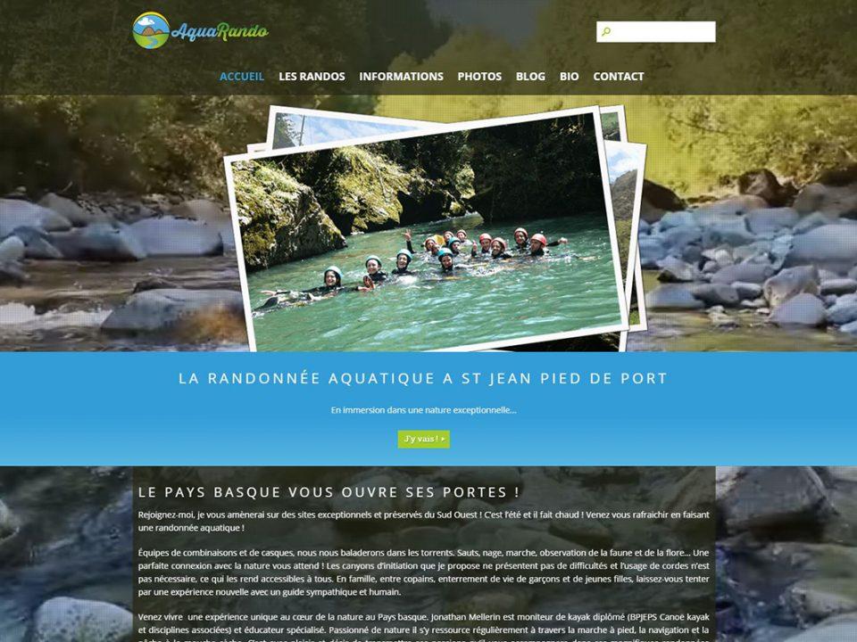 creation site internet pau aquarando