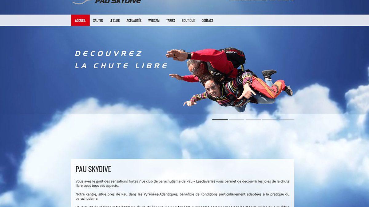 creation de site internet pau skydive