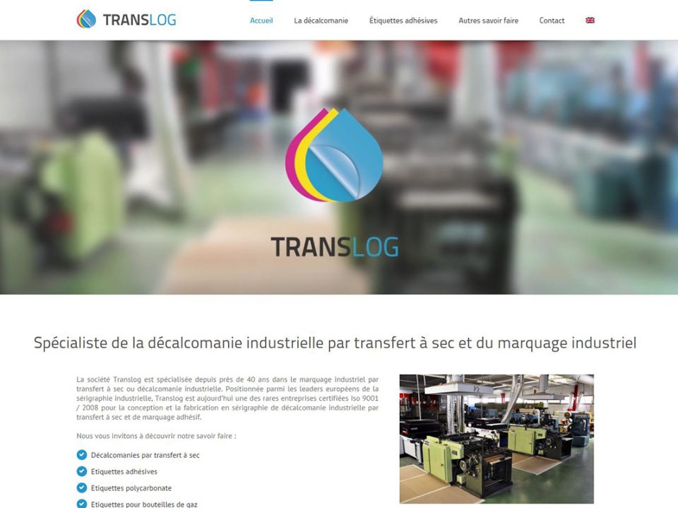 creation site internet pau translog