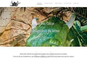 création site internet production artiste