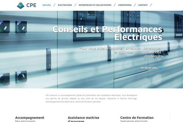 creation de site internet à pau spécialiste électricité