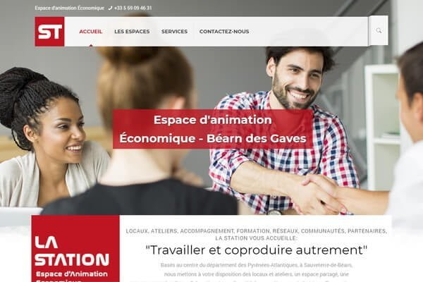 creation de site internet pépinière d'entreprises