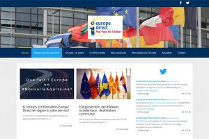 création de site internet association europe