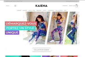 création de site ecommerce leggings vêtements
