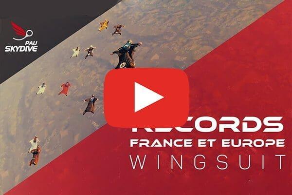 réalisation vidéo parachutisme wingsuit bordeaux