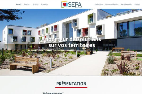 creation site internet sepa