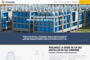création de site internet industriel gaz